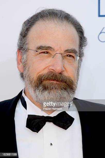 Actor Mandy Patinkin arrives at the 64th Annual Primetime Emmy Awards at Nokia Theatre L.A. Live on September 23, 2012 in Los Angeles, California.