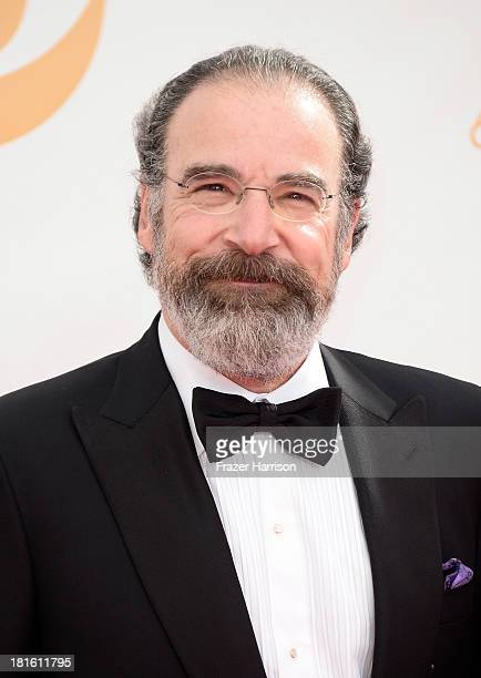 Actor Mandy Patinkin arrives at the 65th Annual Primetime Emmy Awards held at Nokia Theatre L.A. Live on September 22, 2013 in Los Angeles,...