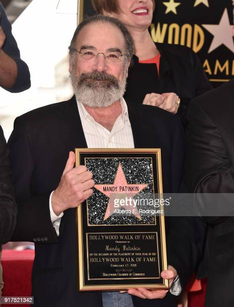 Actor Mandy Patinkin attends a ceremony honoring him with the 2,629th star on the Hollywood Walk of Fame on February 12, 2018 in Hollywood,...