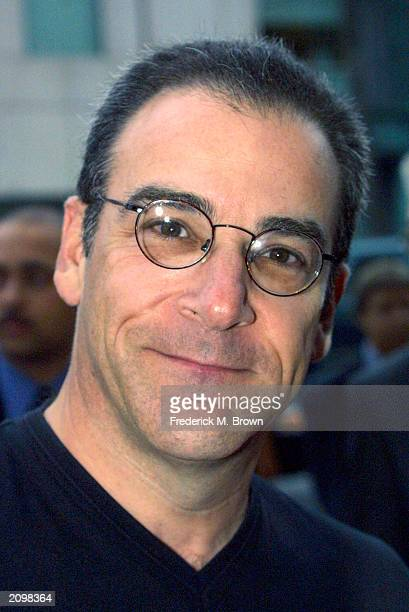 """Actor Mandy Patinkin attends the film premiere of """"Dead Like Me"""" at the Academy of Motion Pictures Arts and Sciences on June 19, 2003 in Beverly..."""