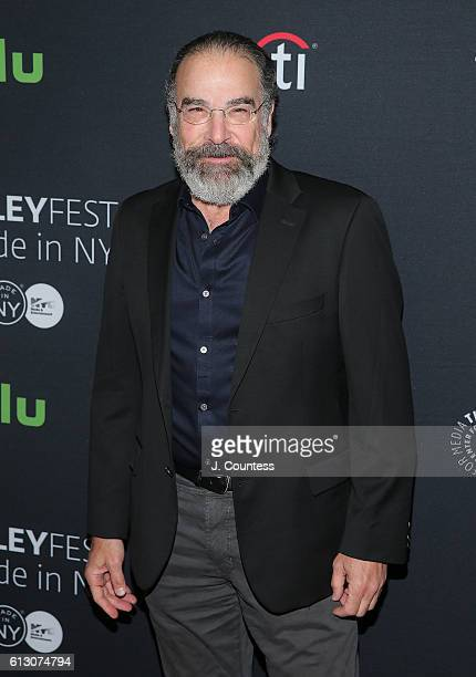 """Actor Mandy Patinkin attends the PaleyFest New York 2016 """"Homeland"""" screening and panel discussion at The Paley Center for Media on October 6, 2016..."""