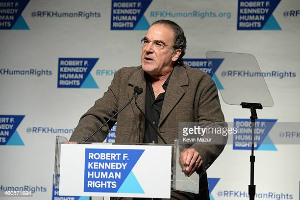 Actor Mandy Patinkin attends the RFK Ripple Of Hope Gala at Hilton Hotel Midtown on December 16 2014 in New York City