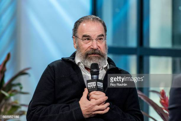 Actor Mandy Patinkin discusses Homeland and Smurfs The Lost Village with the Build Series at Build Studio on April 7 2017 in New York City