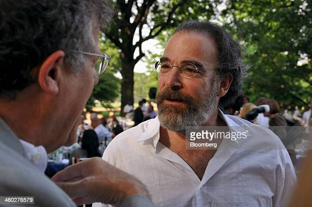 Actor Mandy Patinkin right attends a gala for the Public Theater in Central Park in New York US on Monday June 20 2011 The gala was held before a...