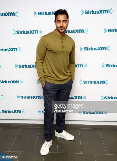 Actor Manish Dayal visits the SiriusXM Studios on April 10 2018 in New York City