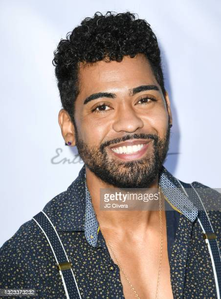 Actor Manny Cartier attends Lany Entertainment's Summer Mixer on June 12, 2021 in Los Angeles, California.