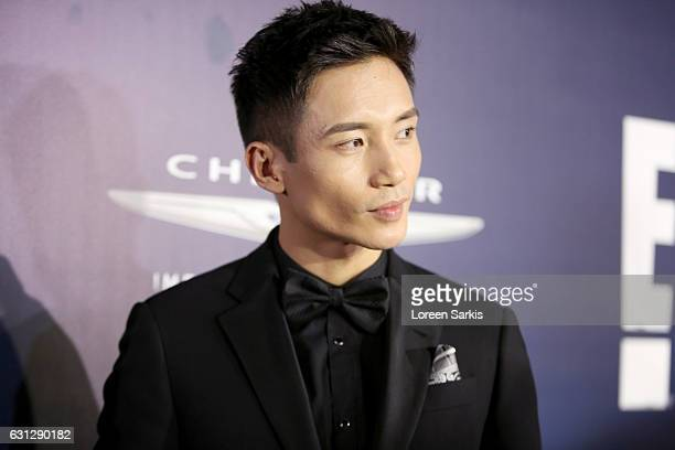 Actor Manny Jacinto attends NBCUniversal's 74th Annual Golden Globes After Party at The Beverly Hilton Hotel on January 8 2017 in Beverly Hills...