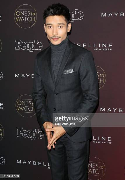 Actor Manny Jacinto attends People's 'Ones To Watch' party at NeueHouse Hollywood on October 4 2017 in Los Angeles California