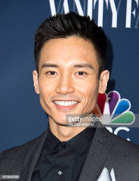 Actor Manny Jacinto attends the NBC and Vanity Fair Toast the 20162017 TV Season in Hollywood California on November 2 2016 / AFP / VALERIE MACON