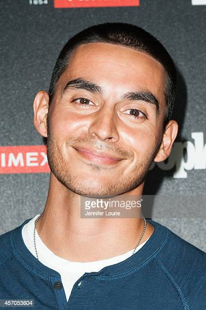 Actor Manny Montana arrives at the People's One To Watch Event at The Line on October 9 2014 in Los Angeles California