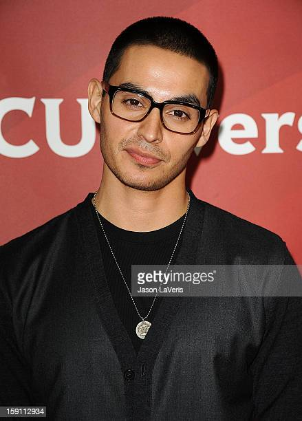 Actor Manny Montana attends the 2013 NBC TCA Winter Press Tour at The Langham Huntington Hotel and Spa on January 7 2013 in Pasadena California