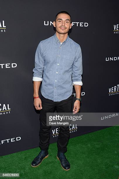 Actor Manny Montana attends the premiere of Vertical Entertainment's Undrafted at ArcLight Hollywood on July 11 2016 in Hollywood California