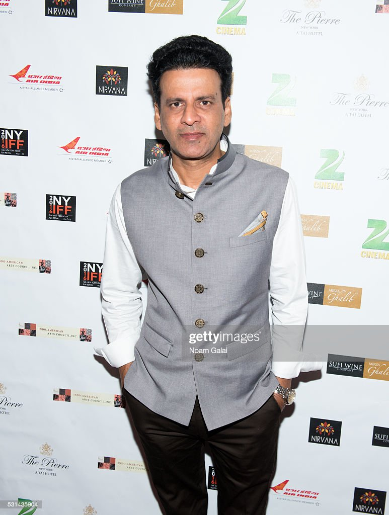 Actor Manoj Bajpayee attends the closing night of the 16th Annual New York Indian Film Festival at Jack H. Skirball Center for the Performing Arts on May 14, 2016 in New York City.