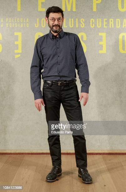Actor Manolo Solo attends the 'Tiempo despues' photocall at Urso hotel on December 18, 2018 in Madrid, Spain.