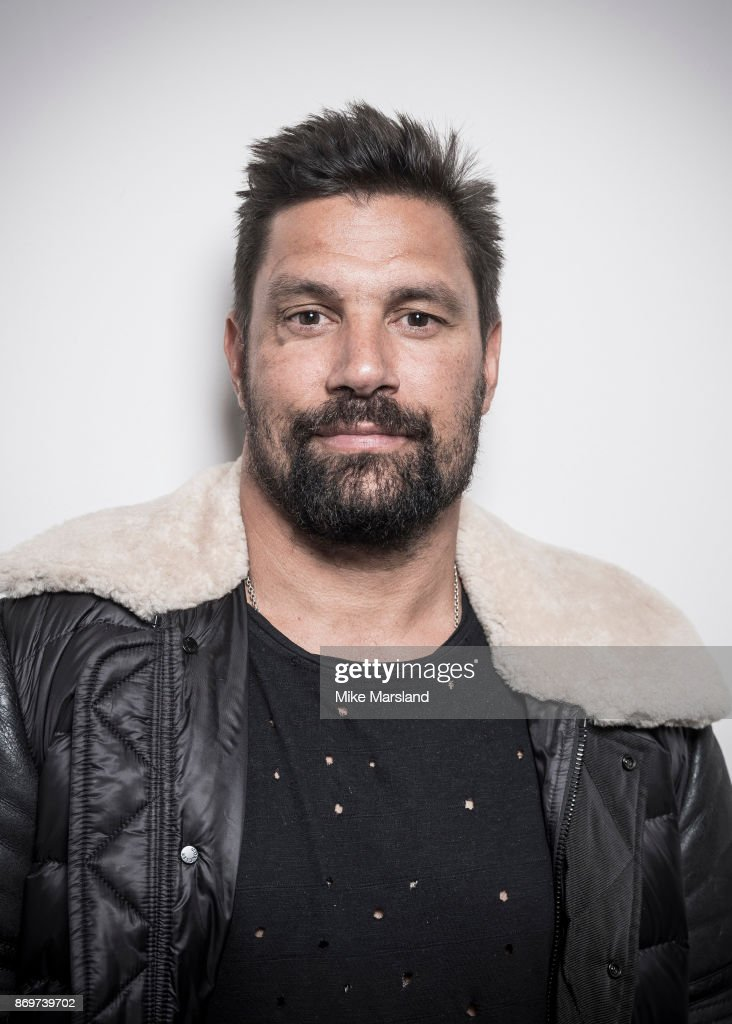 Actor Manu Bennett is photographed on October 30, 2017 in London, England.