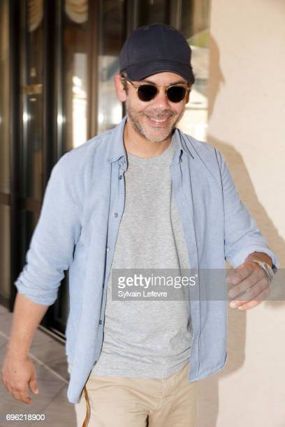 Actor Manu Payet attends day 2 of the 31st Cabourg Film Festival on June 15 2017 in Cabourg France