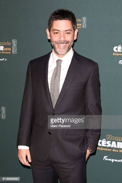 Actor Manu Payet attends the Cesar 2018 nominee luncheon at Le Fouquet's on February 10 2018 in Paris France
