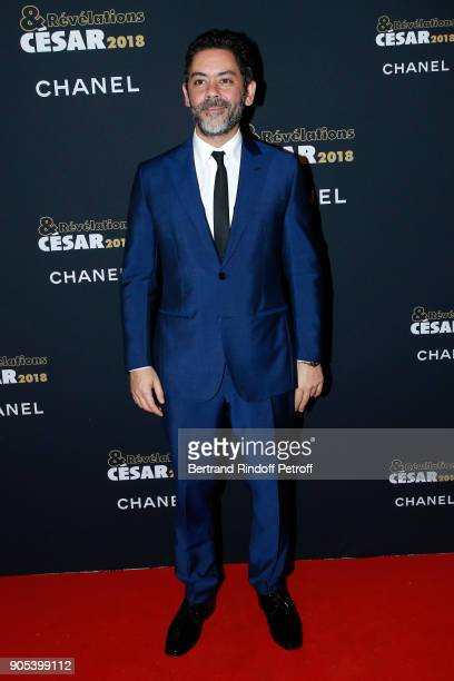 Actor Manu Payet attends the 'Cesar Revelations 2018' Party at Le Petit Palais on January 15 2018 in Paris France