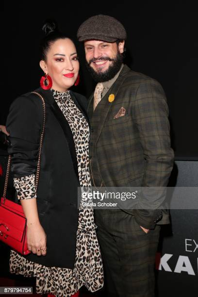 Actor Manuel Cortez and his wife Miyabi Kawai during the New Faces Award Style 2017 at 'The Grand' hotel on November 15 2017 in Berlin Germany