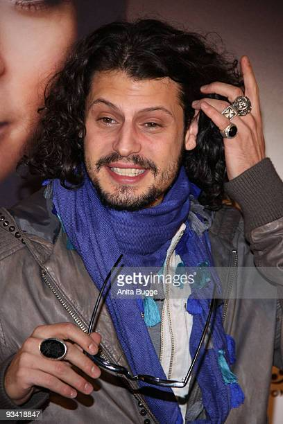 Actor Manuel Cortez arrives at the Germany film premiere of 'Die Tuer' at Kulturbrauerei on November 25 2009 in Berlin Germany