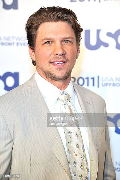 Actor Marc Blucas attends the 2011 USA Upfront at The Tent at Lincoln Center on May 2 2011 in New York City
