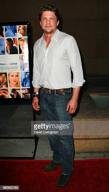 Actor Marc Blucas attends the premiere of Sony Pictures Classics' 'Mother and Child' at the Egyptian Theater on April 19 2010 in Los Angeles...