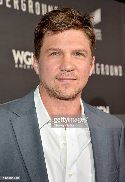 Actor Marc Blucas attends WGN America's 'Underground' World Premiere on March 2 2016 in Los Angeles California
