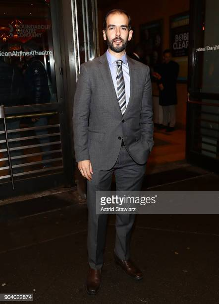 Actor Marc Bruni attends 'John Lithgow Stories By Heart' opening night at American Airlines Theatre on January 11 2018 in New York City