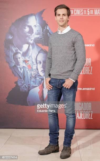 Actor Marc Clotet attends the 'El Jugador de Ajedrez' photocall at Princesa cinema on April 24 2017 in Madrid Spain