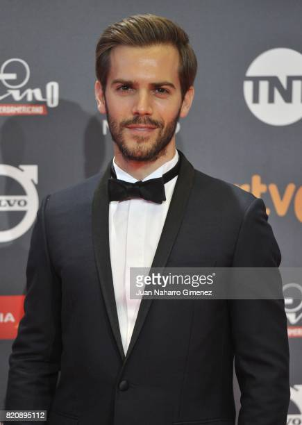 Actor Marc Clotet attends the 'Platino Awards 2017' photocall at La Caja Magica on July 22 2017 in Madrid Spain