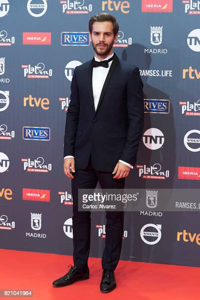 Actor Marc Clotet attends the Platino Awards 2017 photocall at the La Caja Magica on July 22 2017 in Madrid Spain
