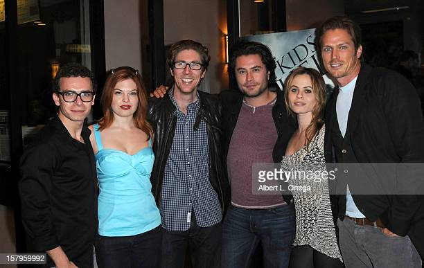 Actor Marc Donato actress Amand Alch director Matthew Spradlin actor Kevin Ryan actress Augie Duke and actor Jason Lewis arrive for the Screening Of...