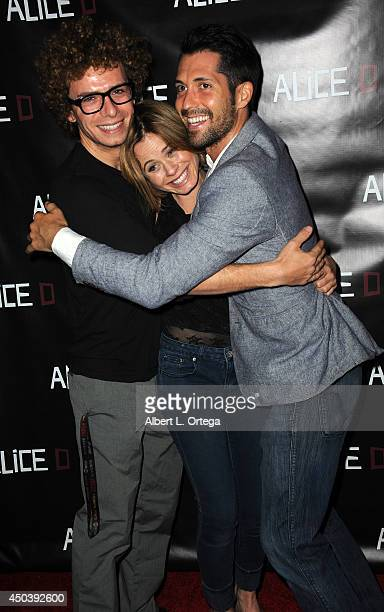 Actor Marc Donato actress Augie Duke and Patrick Cronen arrive for the Screening Of Alice D At The 19th Annual IFS Film Festival held at Laemmle's...