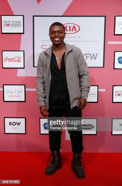 Actor Marc John Jefferies attends Kia STYLE360 Hosts Bad Butterfly Presented by Candice Cuoco x Vanessa Simmons S/S '18 at Metropolitan West on...