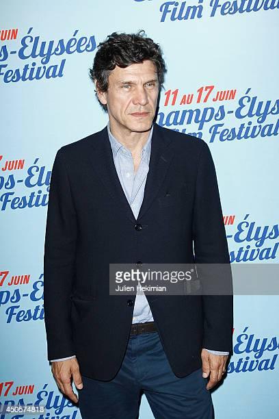 Actor Marc Lavoine attends A toute Epreuve Paris premiere on June 13 2014 in Paris France