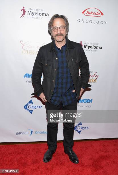 Actor Marc Maron attends the 11th Annual Comedy Celebration presented by the International Myeloma Foundation at The Wilshire Ebell Theatre on...