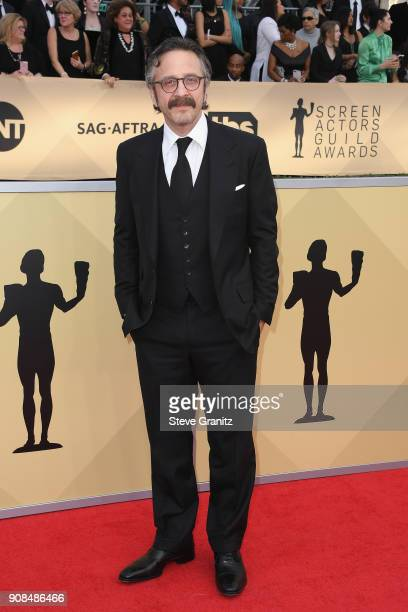 Actor Marc Maron attends the 24th Annual Screen ActorsGuild Awards at The Shrine Auditorium on January 21 2018 in Los Angeles California