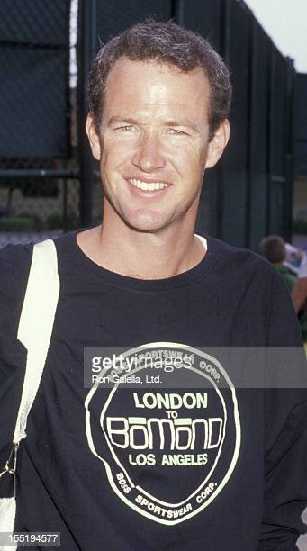 Actor Marc McClure attends Third Annual Make A Wish Celebrity Sports Invitational on May 9, 1987 at La Casa de Vida in Torrance, California.
