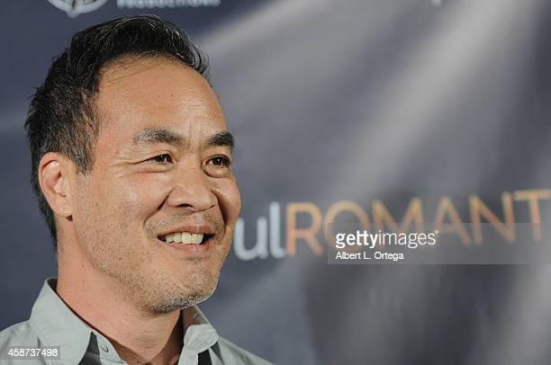Actor Marc Oka arrives for the Special Screening of Matt Zarley's hopefulROMANTIC With George Takei held at American Film Institute on November 9...