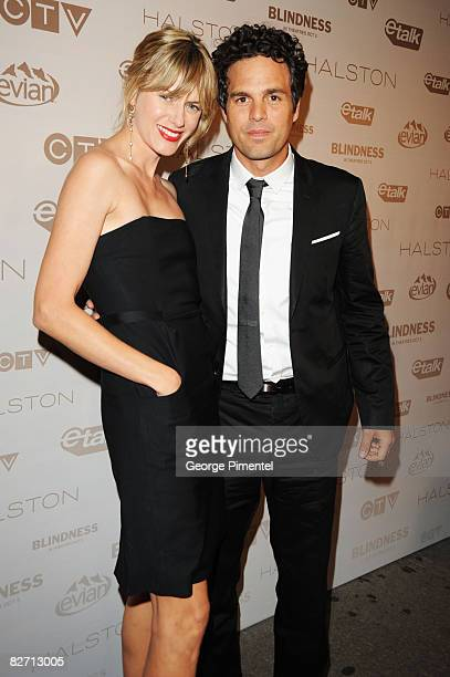 Actor Marc Ruffalo and wife attend the Blindness After Party held at Chum/City TV during the 2008 Toronto International Film Festival on September 6...