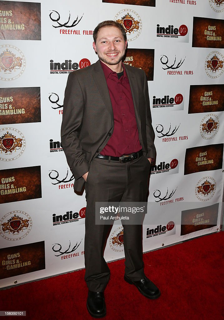 Actor Marc Winnick attends the 'Guns, Girls & Gambling' screening at the Laemmle NoHo 7 on December 13, 2012 in North Hollywood, California.