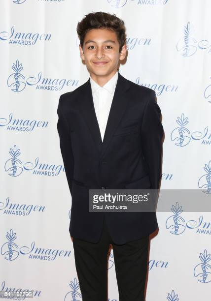 Actor Marcel Ruiz attends the 32nd Annual Imagen Awards at the Beverly Wilshire Four Seasons Hotel on August 18 2017 in Beverly Hills California