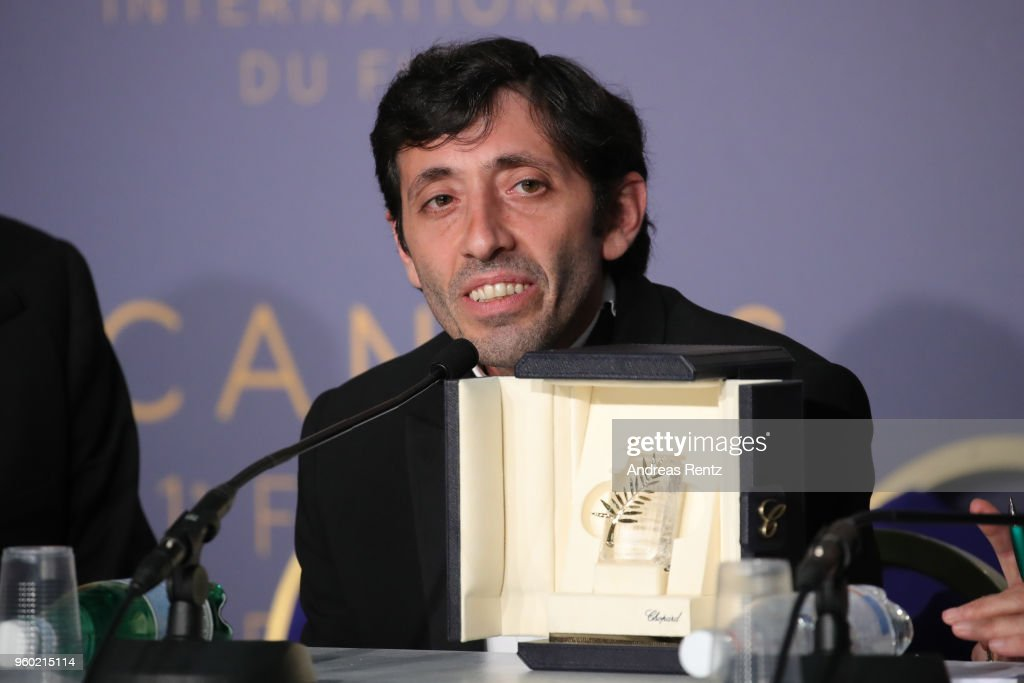 FRA: Palme D'Or Winner Press Conference - The 71st Annual Cannes Film Festival
