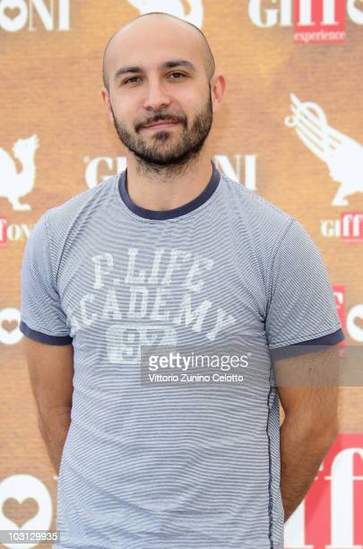 Actor Marcello Macchia attends a photocall during Giffoni Experience 2010 on July 28 2010 in Giffoni Valle Piana Italy
