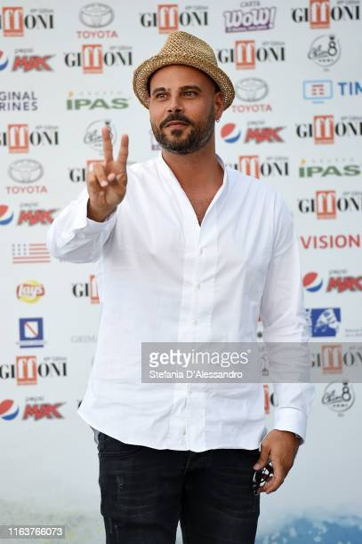 Actor Marco D'Amore attends Giffoni Film Festival 2019 on July 23, 2019 in Giffoni Valle Piana, Italy.
