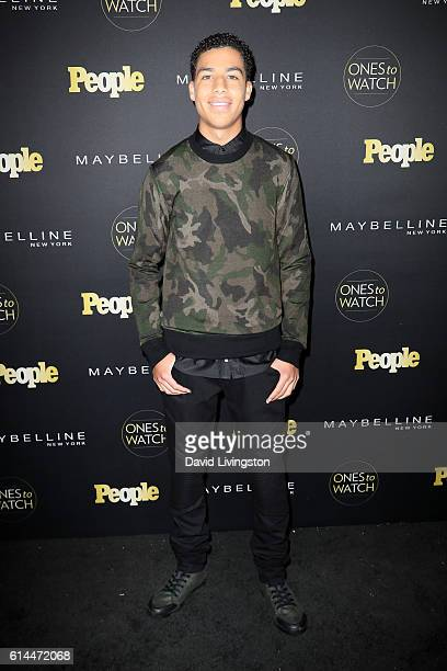 Actor Marcus Scribner arrives at People's 'Ones to Watch' at EP LP on October 13 2016 in West Hollywood California