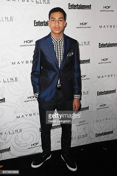 Actor Marcus Scribner arrives at the Entertainment Weekly celebration honoring nominees for The Screen Actors Guild Awards at the Chateau Marmont on...