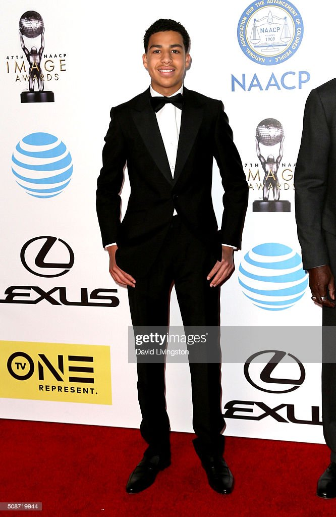 Actor Marcus Scribner attends the 47th NAACP Image Awards presented by TV One at Pasadena Civic Auditorium on February 5, 2016 in Pasadena, California.