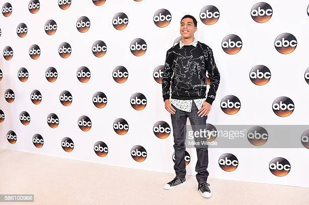 Actor Marcus Scribner attends the Disney ABC Television Group TCA Summer Press Tour on August 4 2016 in Beverly Hills California