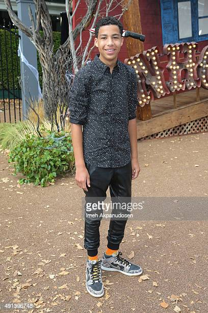 Actor Marcus Scribner attends the premiere of Sony Pictures Entertainment's 'Goosebumps' at Regency Village Theatre on October 4 2015 in Westwood...